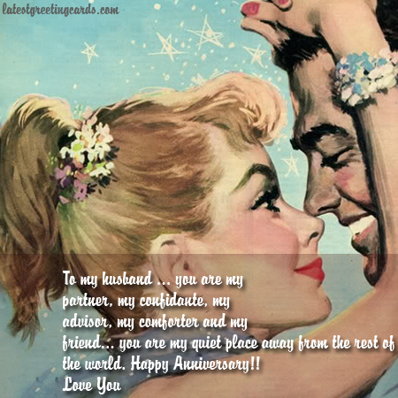 Anniversary Card to Him