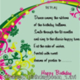 Birthday Poem Wishes Cards