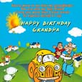 Grandpa Birthday Wishes Card