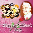 Children&#39;s Day India Cards, Children&#39;s Day Nehru, Chacha Nehru ...