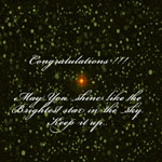 Congratulation Card for Promotion