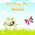 Enjoy Week End Card