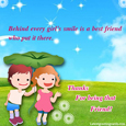 Smile Friendship cards