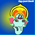 Ganesh Chaturthi Blessing Card