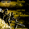 May day Thank You Card