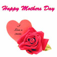 Mothers Day Flower Card