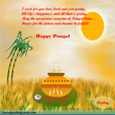 Pongal Wishes Greeting