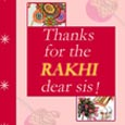 Thanks for Rakhi
