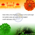 Republic day post Card