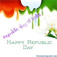 Republic day greetings India